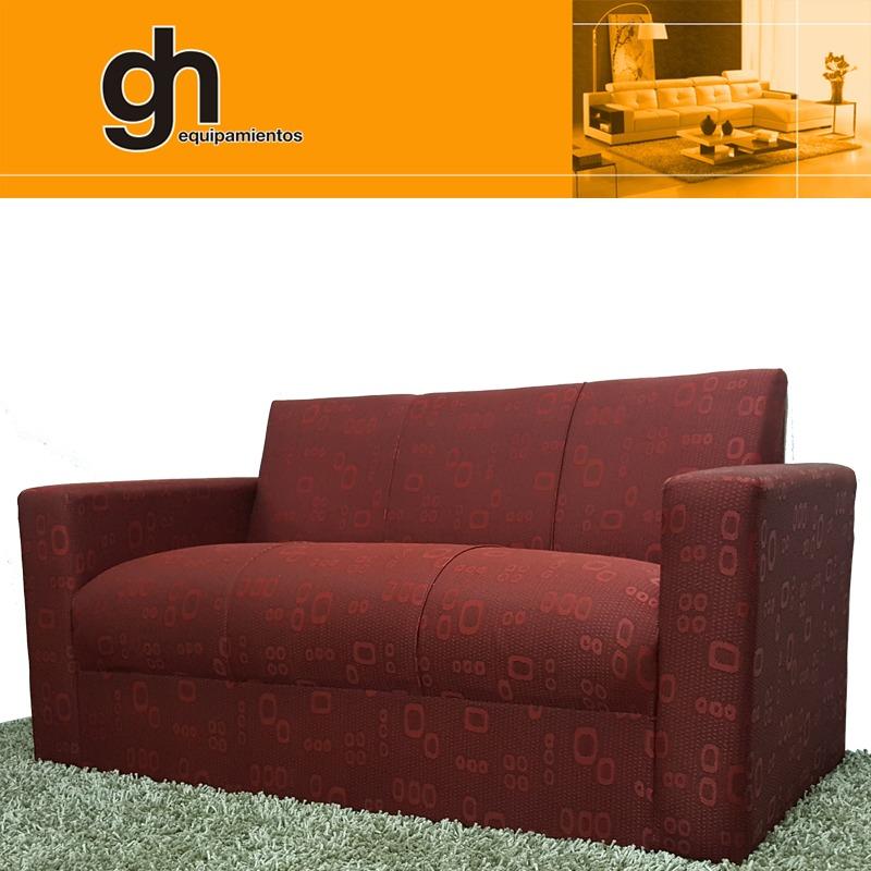 Juego de sillones para living sofa recto minimalista gh for Sillones living para espacios reducidos