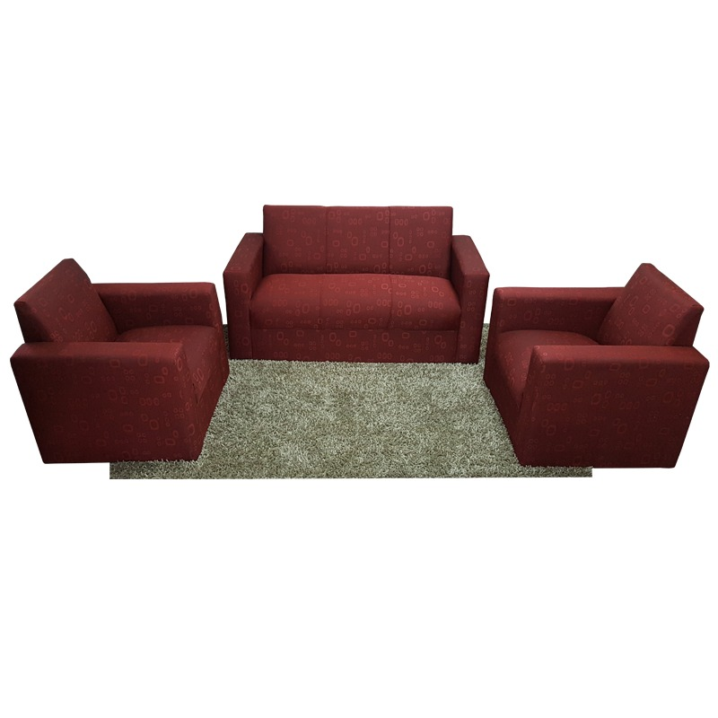 juego sillones sofa 3 1 1 para living moderno basico