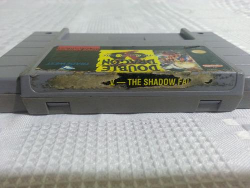 juego snes super nintendo double dragon 5 the shadow falls