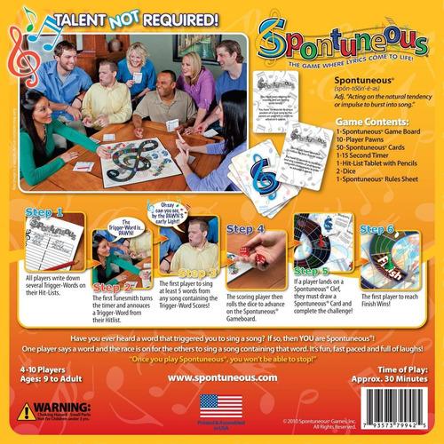juego song  sing it o shout it  imagen no obligatorios (mej