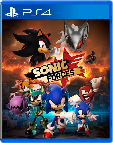 juego sonic forces ps4 - licencia original envio inmediato