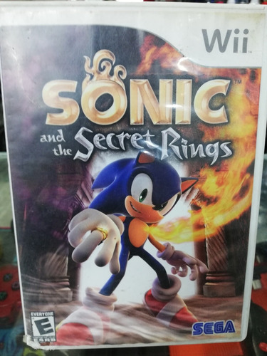 juego sonic secret rings wii