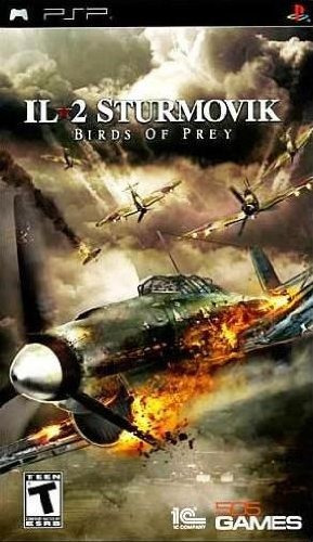 juego sony psp il-2 sturmovik birds of prey playstation