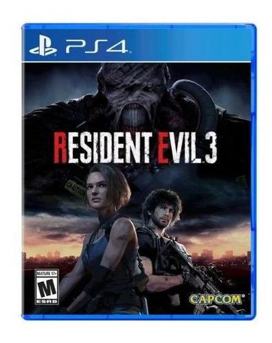 juego sony resident evil 3 playstation 4 - adn tienda
