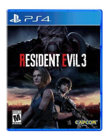 juego sony resindent evil 3 ps4 - adn tienda