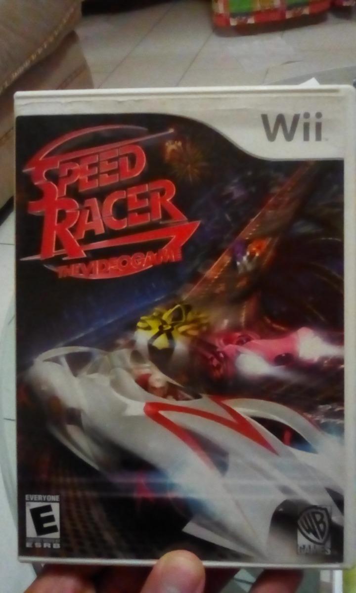 Juego Speed Racer Meteoro Para Nintendo Wii Original Bs