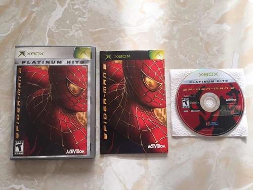 juego spider-man 2  xbox