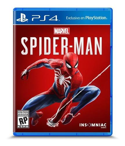 juego spider man marvel exclusivo ps4 nuevo idioma español