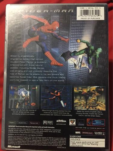 juego spiderman para xbox