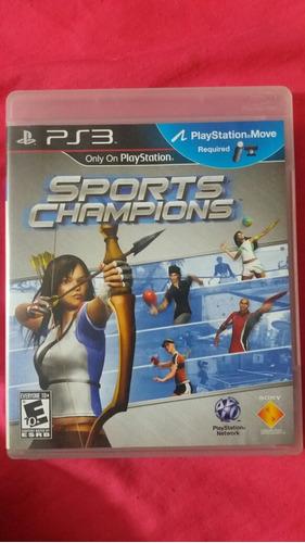 juego sports champions para ps3