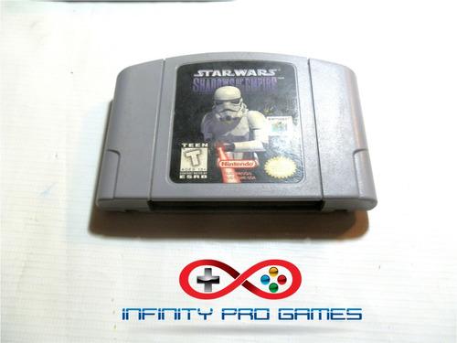 juego star wars shadows of the empire original nintendo 64