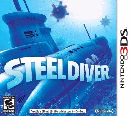 juego steel diver nintendo 3ds venta/cambio