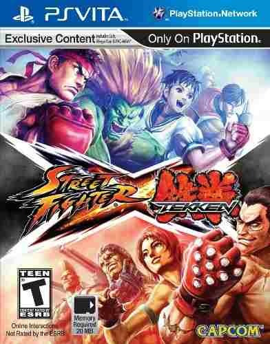 juego street fighter x tekken playstation vita