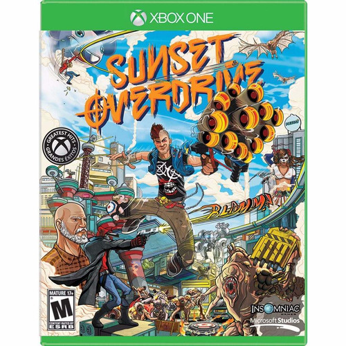 juego sunset overdrive nuevo xbox one seguimos enviando!!