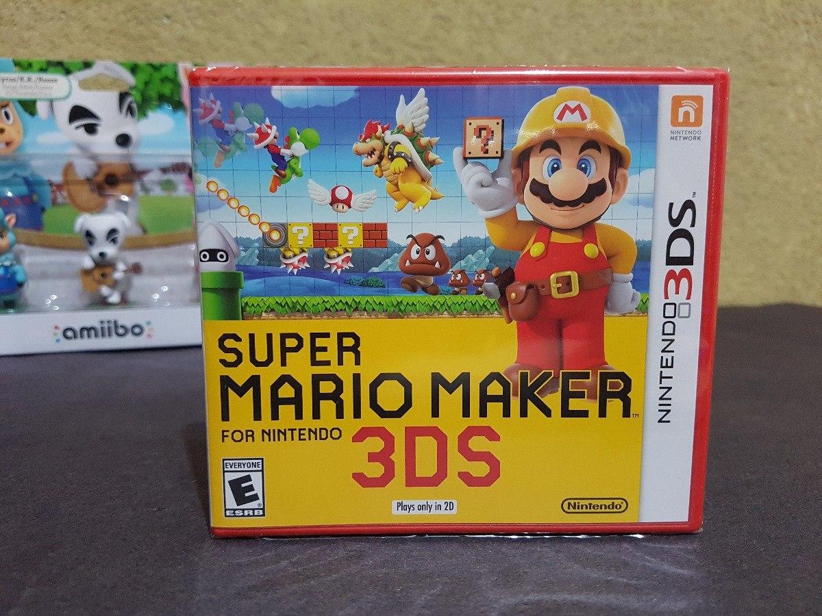 Juego Super Mario Maker Para Nintendo 3ds Nuevo Y Sellado 570 00
