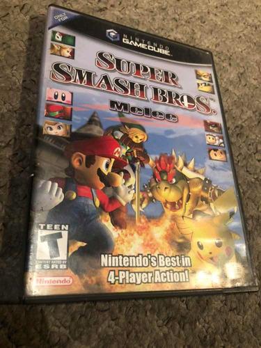 juego súper smash bros melee gamecube original