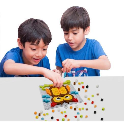 juego tablero lego armatodo fichas didáctico rompecabezas