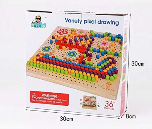 juego tablero pixel art fichas didactico