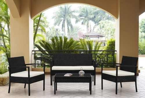 juego terraza muebles