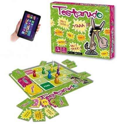Juego Testarudo Games + App Toto Games 2042