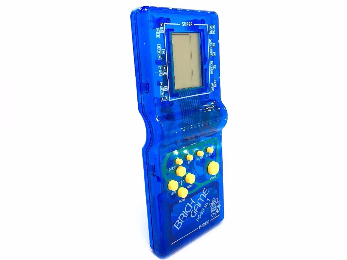 Juego Tetris Brick Azul Clasico Game 9999 En 1 39 99 En Mercado