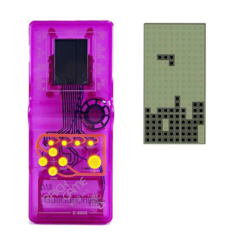 Juego Tetris Morado Brick Clasico Game 9999 In 1 Juguete 36 00