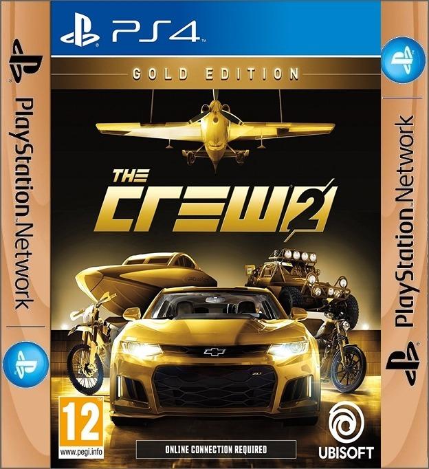Juego The Crew 2 Gold Edition Original Ps4 O1 Wg