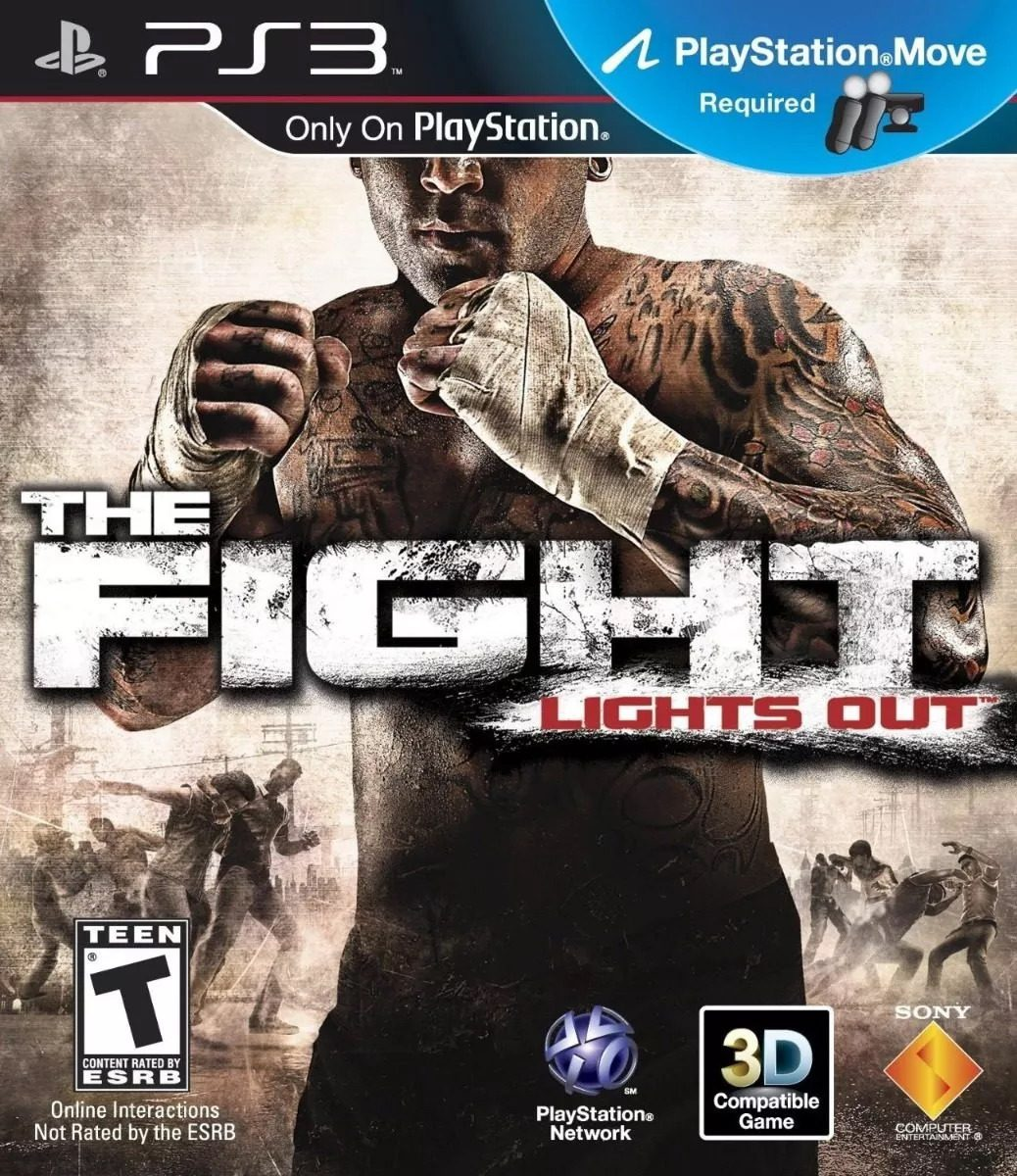 THE FIGHT LIGHTS OUT PS3 SEMINUEVO