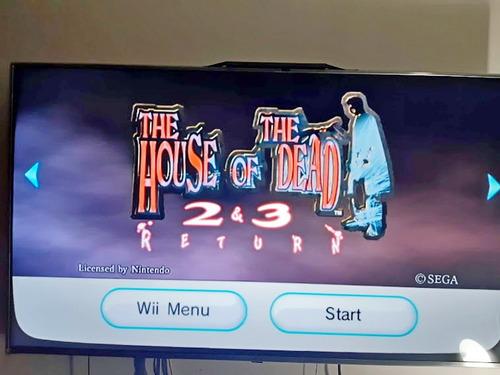 juego the house of the dead 2 y 3  nintendo wii original