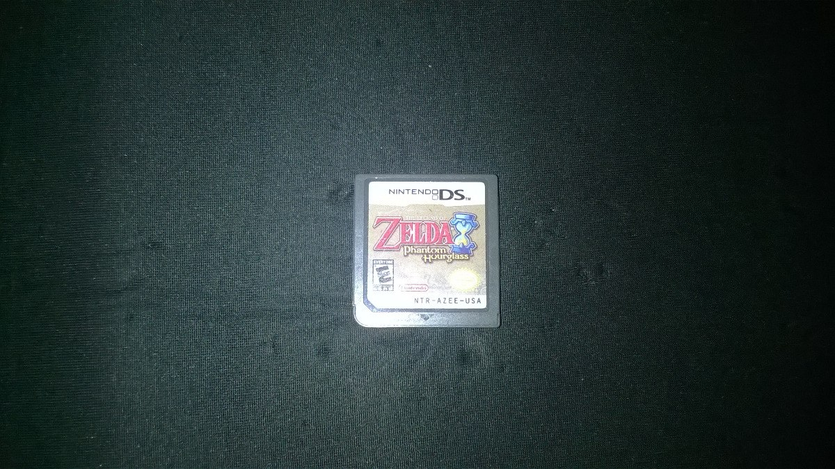 Juego The Legend Of Zelda Phantom Hourglass Nds 50 000 En