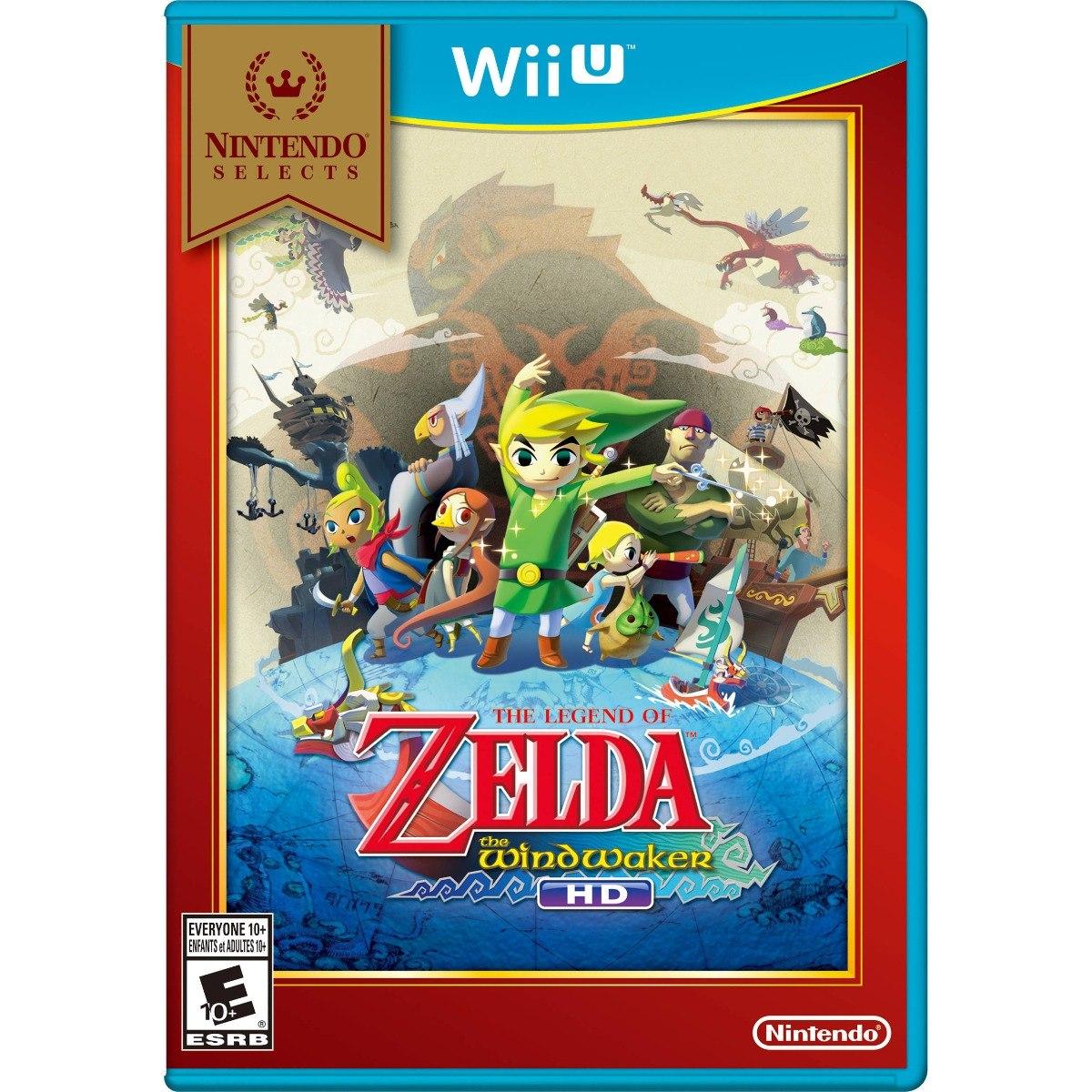 Juego The Legend Of Zelda The Wind Waker Para Wii U Nuevo 1 115