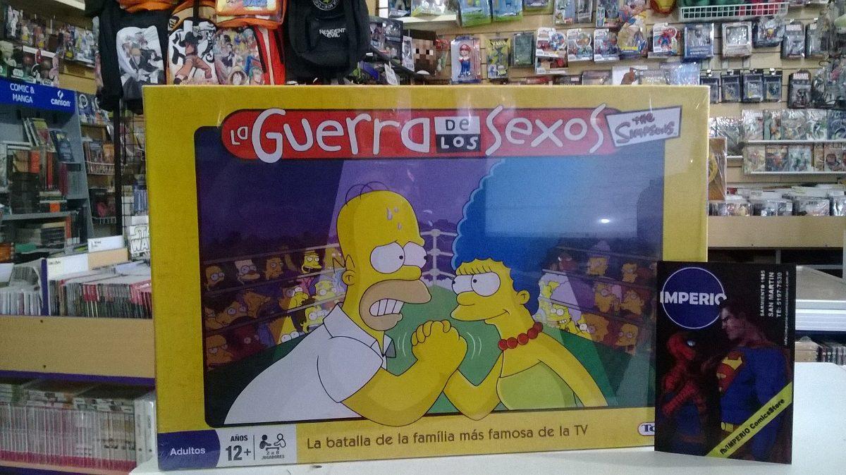 Juego The Simpsons La Guerra De Los Sexos Toyco 630 00 En
