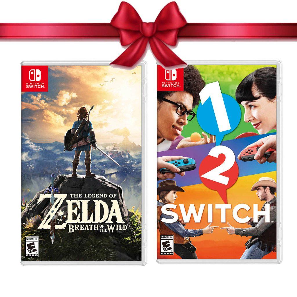 Juego The Zelda Breath The Wild 1 2 Switch Nintendo Switch