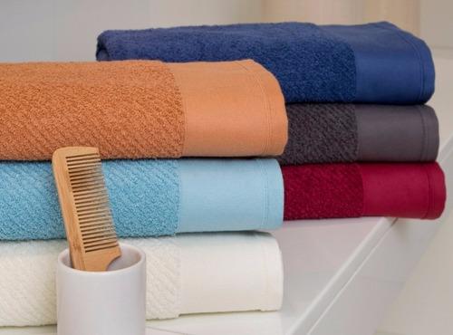 juego toalla toallon arco iris ceylon 550gr algodón peinado