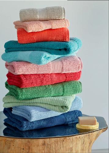 juego toalla toallón espalma 100% algodón peinado + calidad