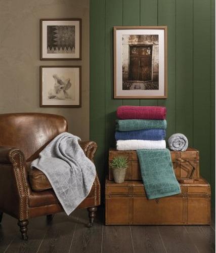 juego toalla + toallon premium 420 grs palette 100 % algodon