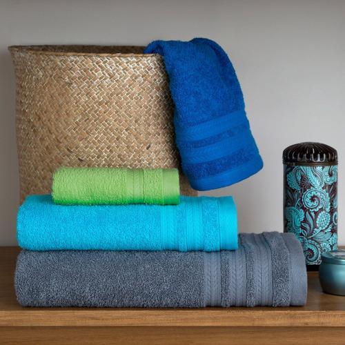 juego toalla y toallon arco iris belly 450 gramos 100% algodón amplios colores