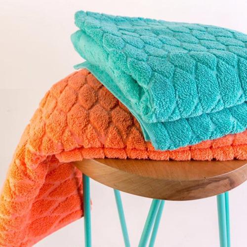 juego toalla y toallon arco iris yoko 550gr algodón peinado