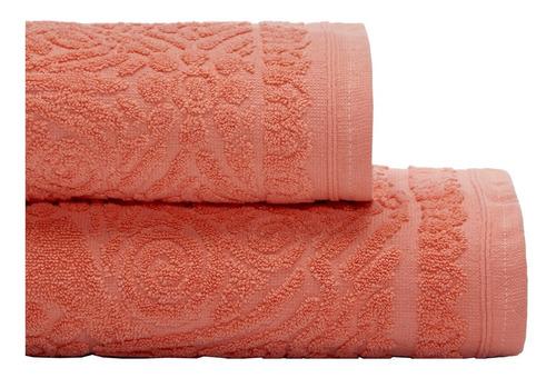 juego toalla y toallon danubio jacquard algodon 500 grs