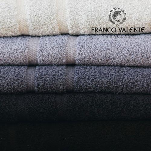 juego toalla y toallon franco valente 500gr grandes algodon
