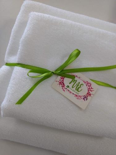 juego toalla y toallon microfibra . secado rapido