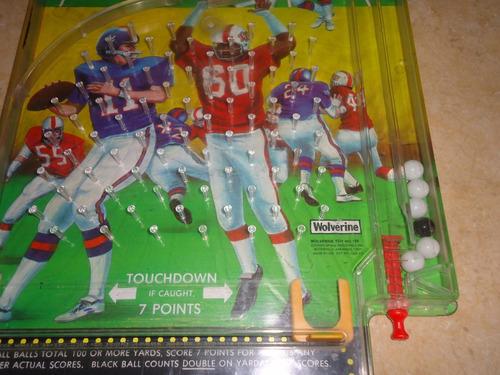 juego touchdown vintage wolverine 154 spang industries metal