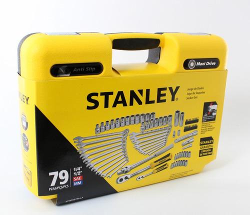 juego tubos stanley 79  pzas stmt82780 sistema maxi drive