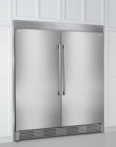 juego twin electrolux refrigerador/congelador ei32ar80qs