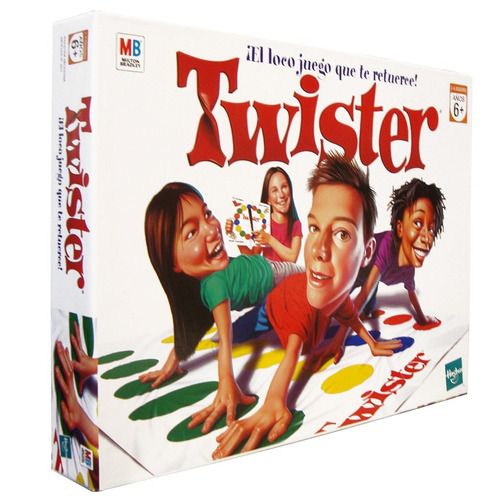 juego twister original hasbro (3687)