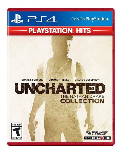 juego uncharted nathan drake collection hits sony ps4 cuotas
