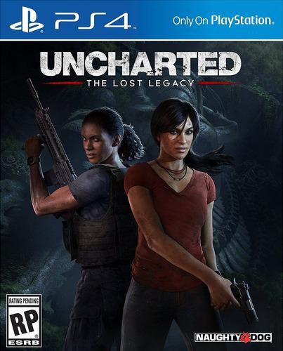 juego uncharted the lost legacy para ps4 original sellado