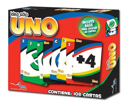 Juego Uno Clasico Marca Idea 99 00 En Mercado Libre