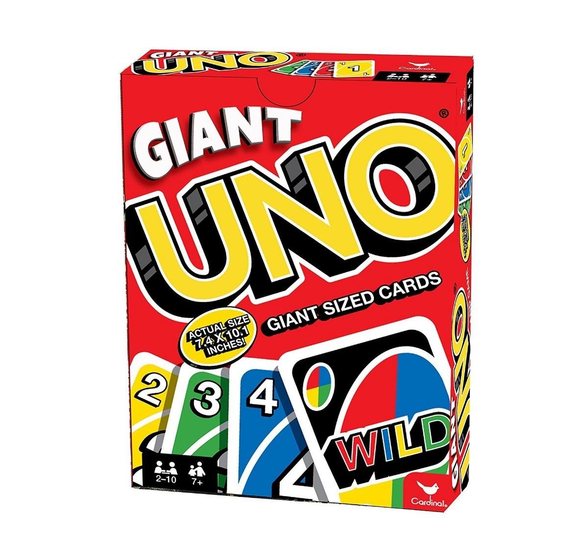 Juego Uno Gigante De Mesa De Cartas 26x19 Cm Juguete 599 00 En