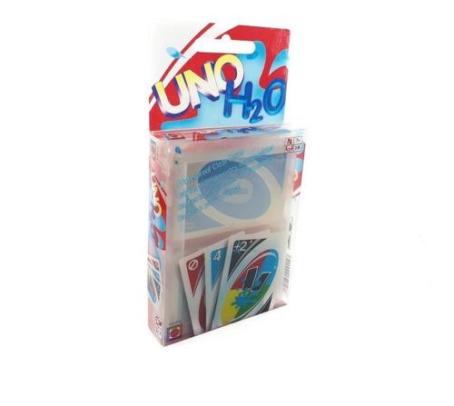 juego uno h2o diversión resistente al agua + envio gratis